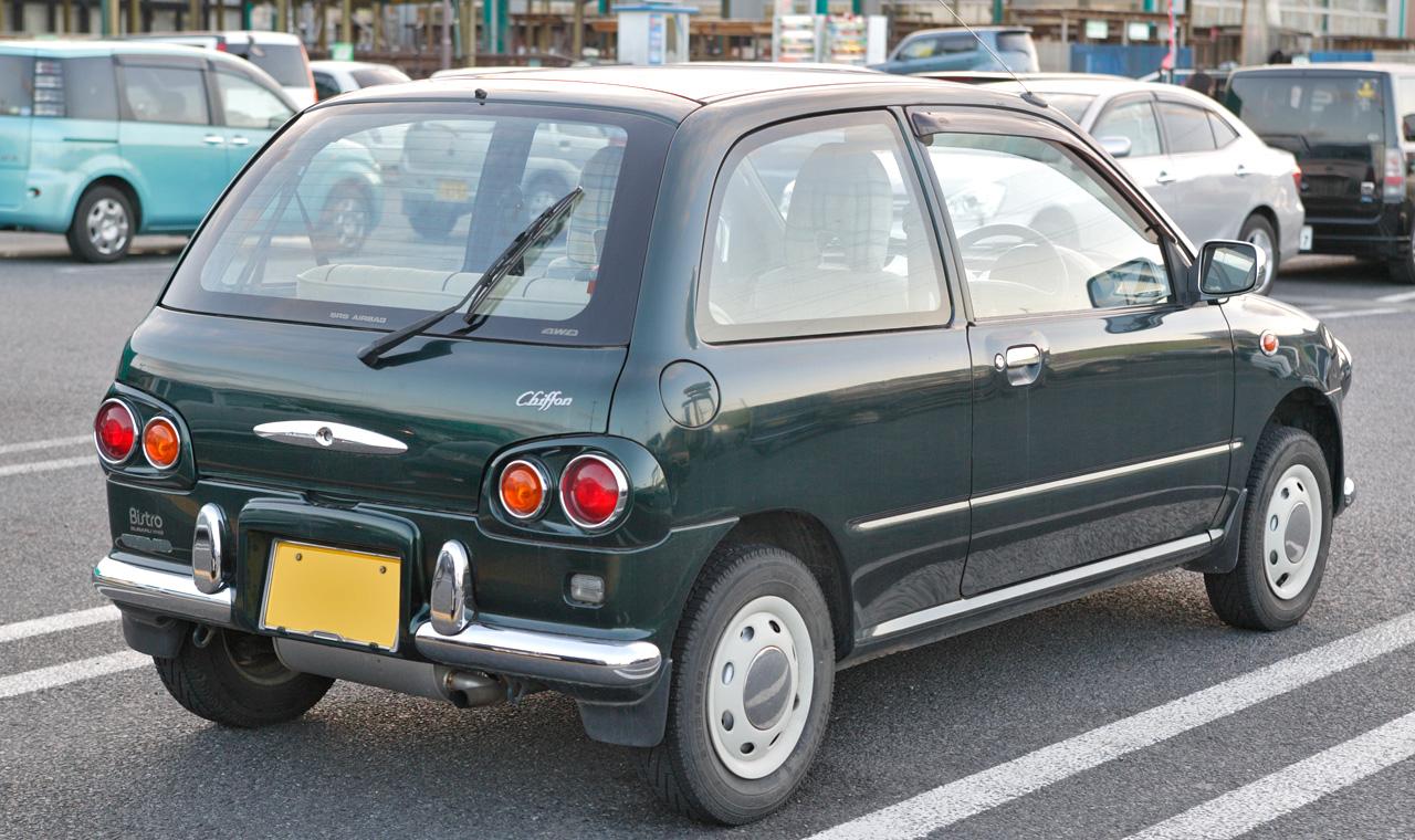 Subaru Bistro I 1995 - 1998 Hatchback 5 door #6
