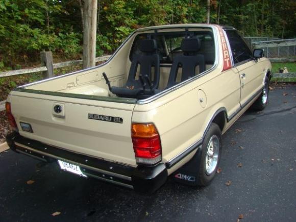 Subaru Brat I 1978 - 1994 Pickup #2