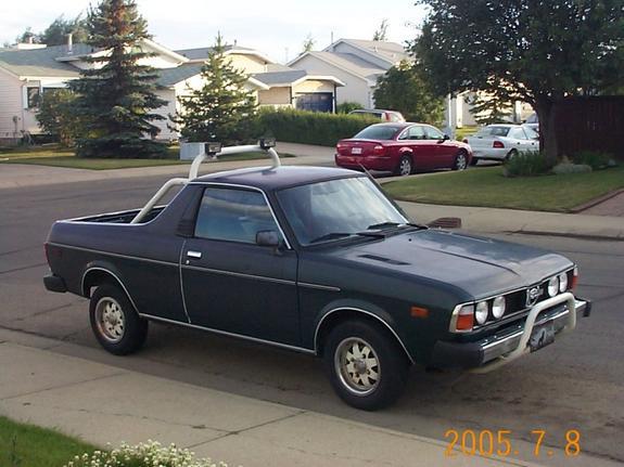 Subaru Brat I 1978 - 1994 Pickup #8