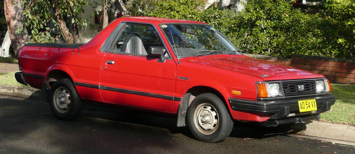 Subaru Brat I 1978 - 1994 Pickup #7