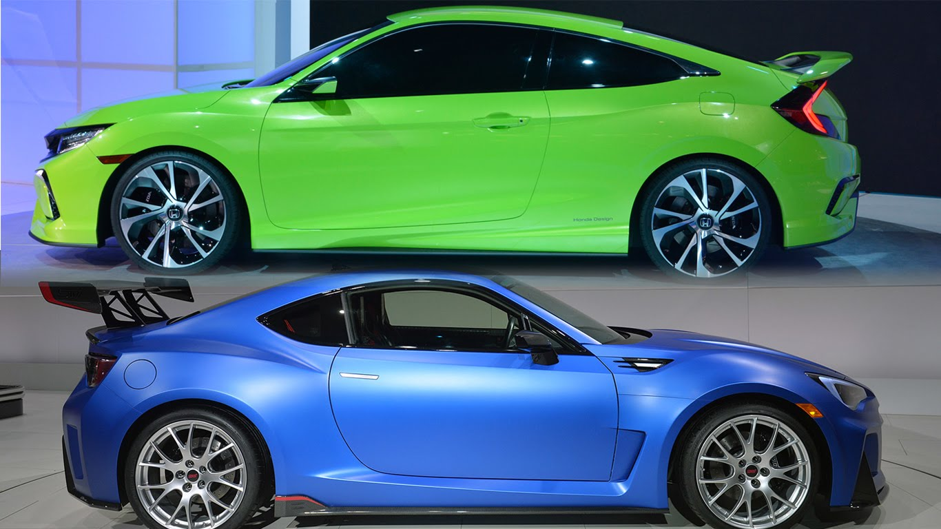 Subaru BRZ 2012 - 2016 Coupe :: OUTSTANDING CARS