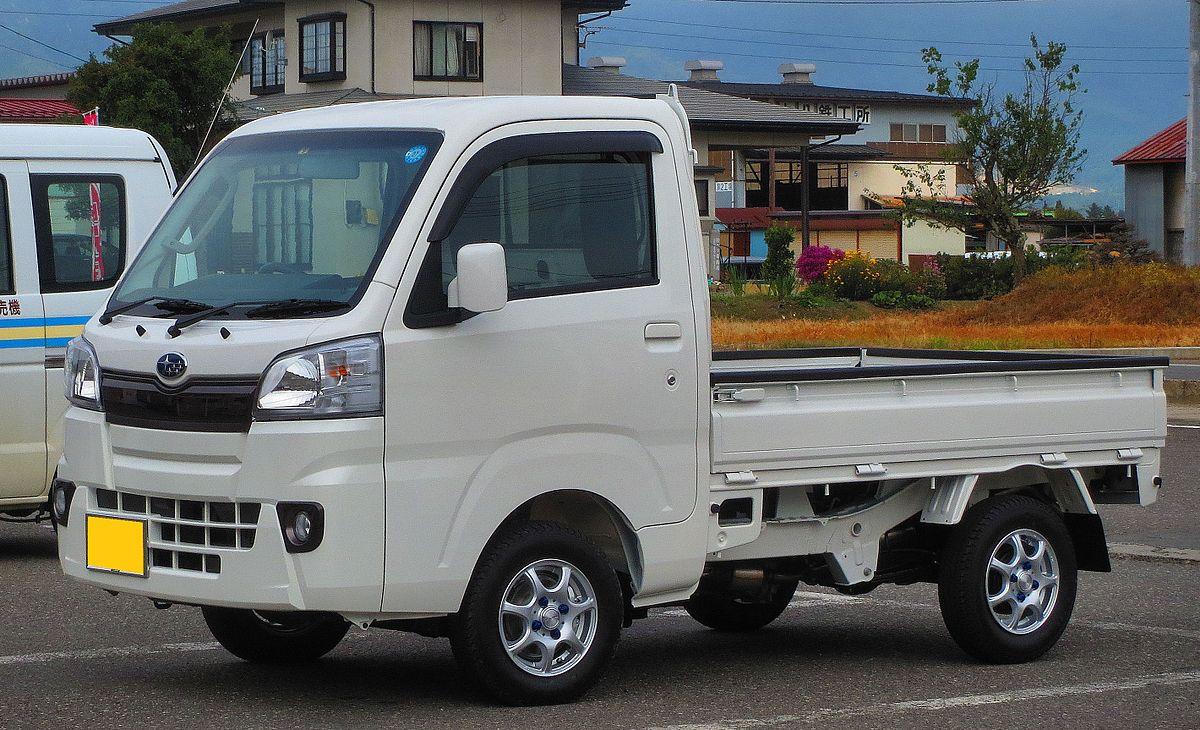 Subaru Sambar 2009 - 2012 Microvan #5