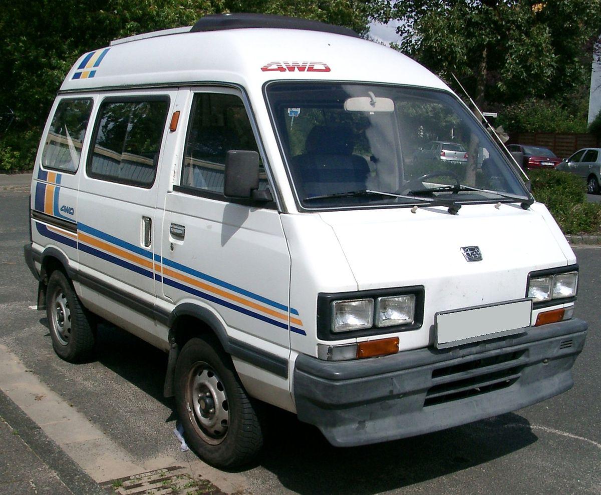 Subaru Domingo I 1983 - 1991 Microvan #2