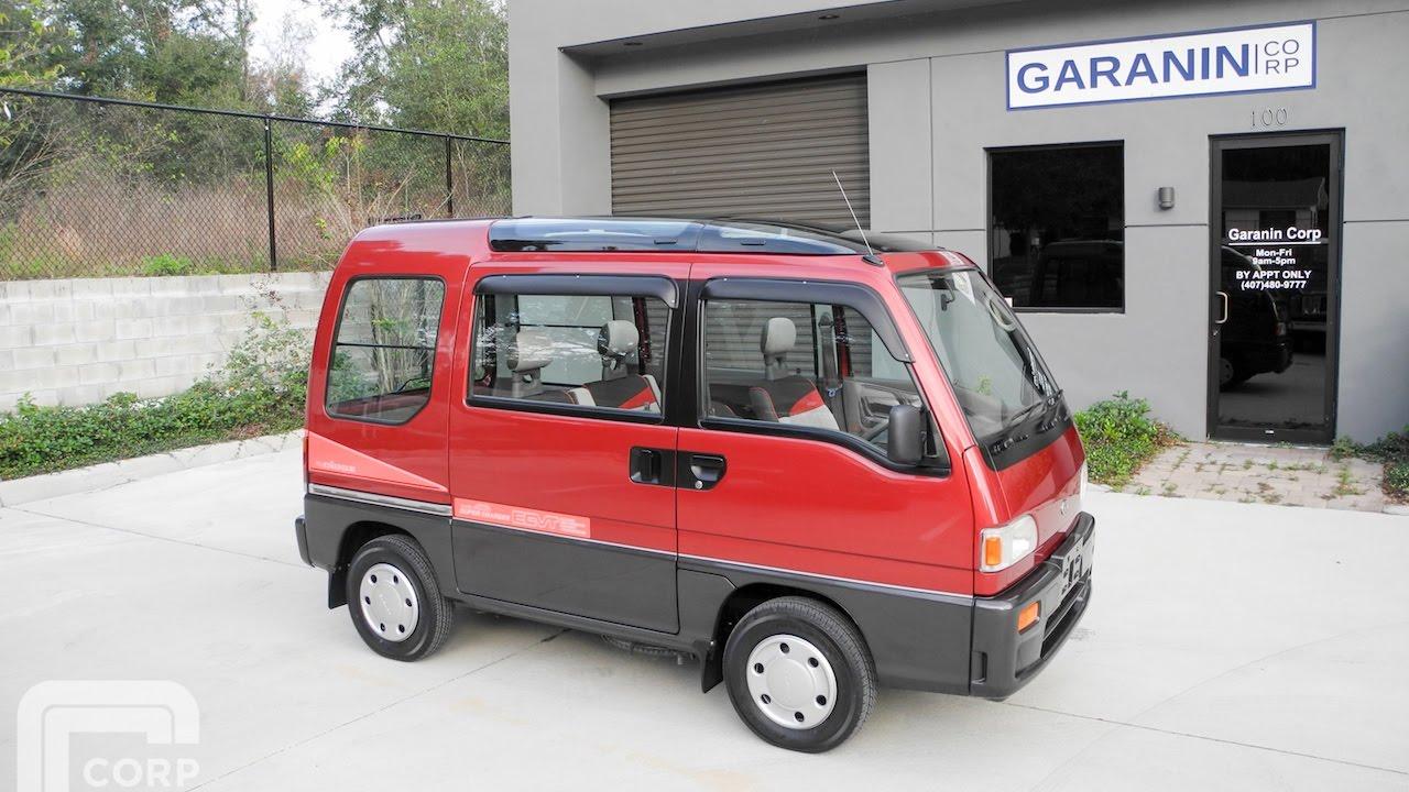 Subaru Domingo I 1983 - 1991 Microvan #5