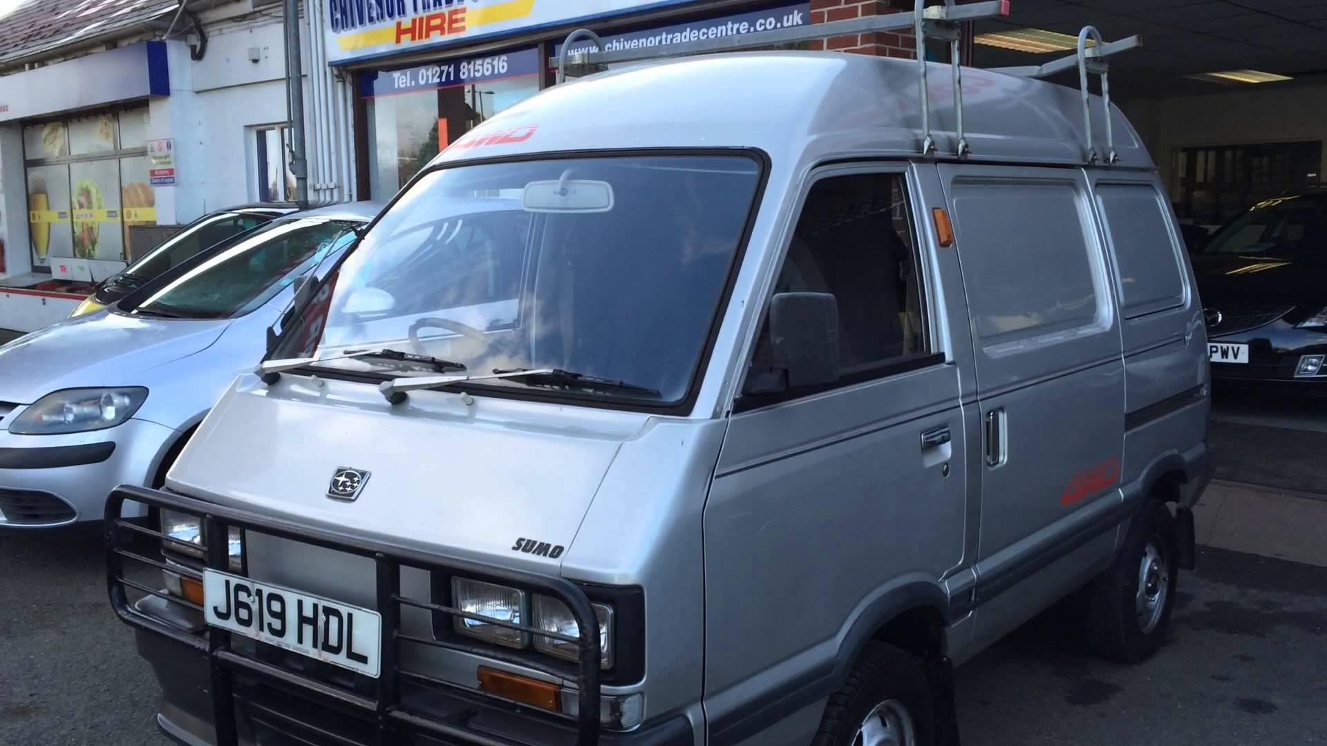 Subaru Domingo I 1983 - 1991 Microvan #1