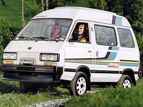 Subaru Domingo I 1983 - 1991 Microvan #8