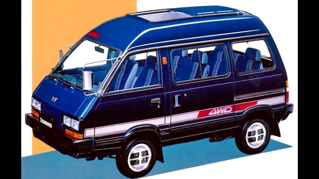 Subaru Domingo I 1983 - 1991 Microvan #7