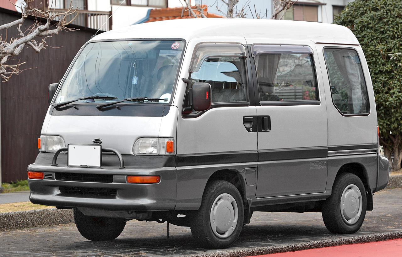 Subaru Libero 1993 - 1998 Compact MPV #5