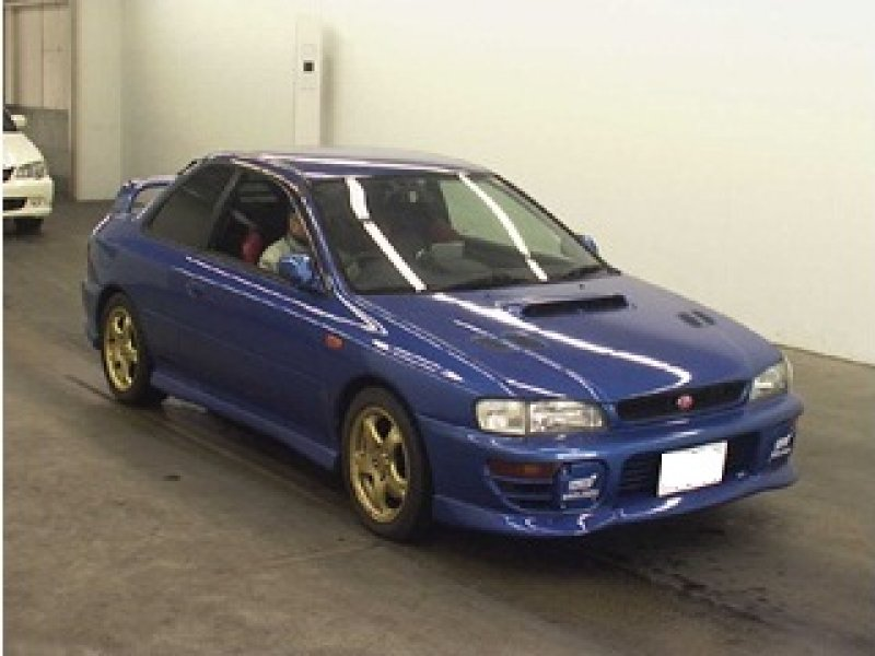 Subaru Impreza I 1992 - 2000 Coupe #2