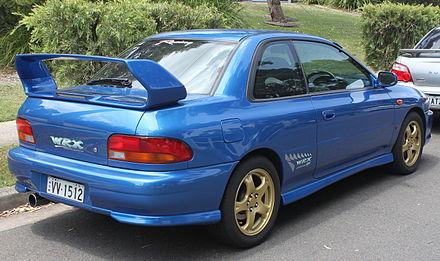 Subaru Impreza I 1992 - 2000 Coupe #4
