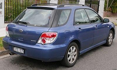 Subaru Impreza II Restyling 2 2005 - 2007 Station wagon 5 door #6