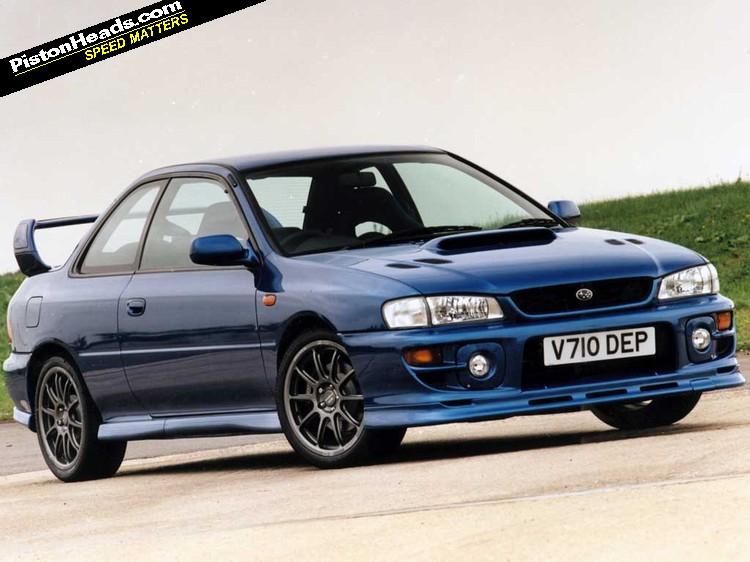 Subaru Impreza WRX I 1992 - 2000 Coupe #3