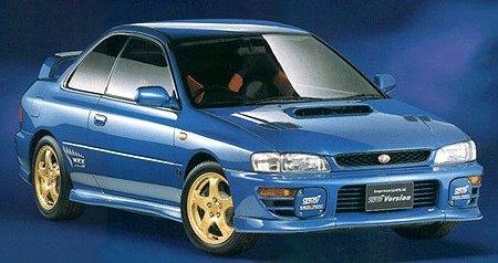 Subaru Impreza WRX I 1992 - 2000 Coupe #4
