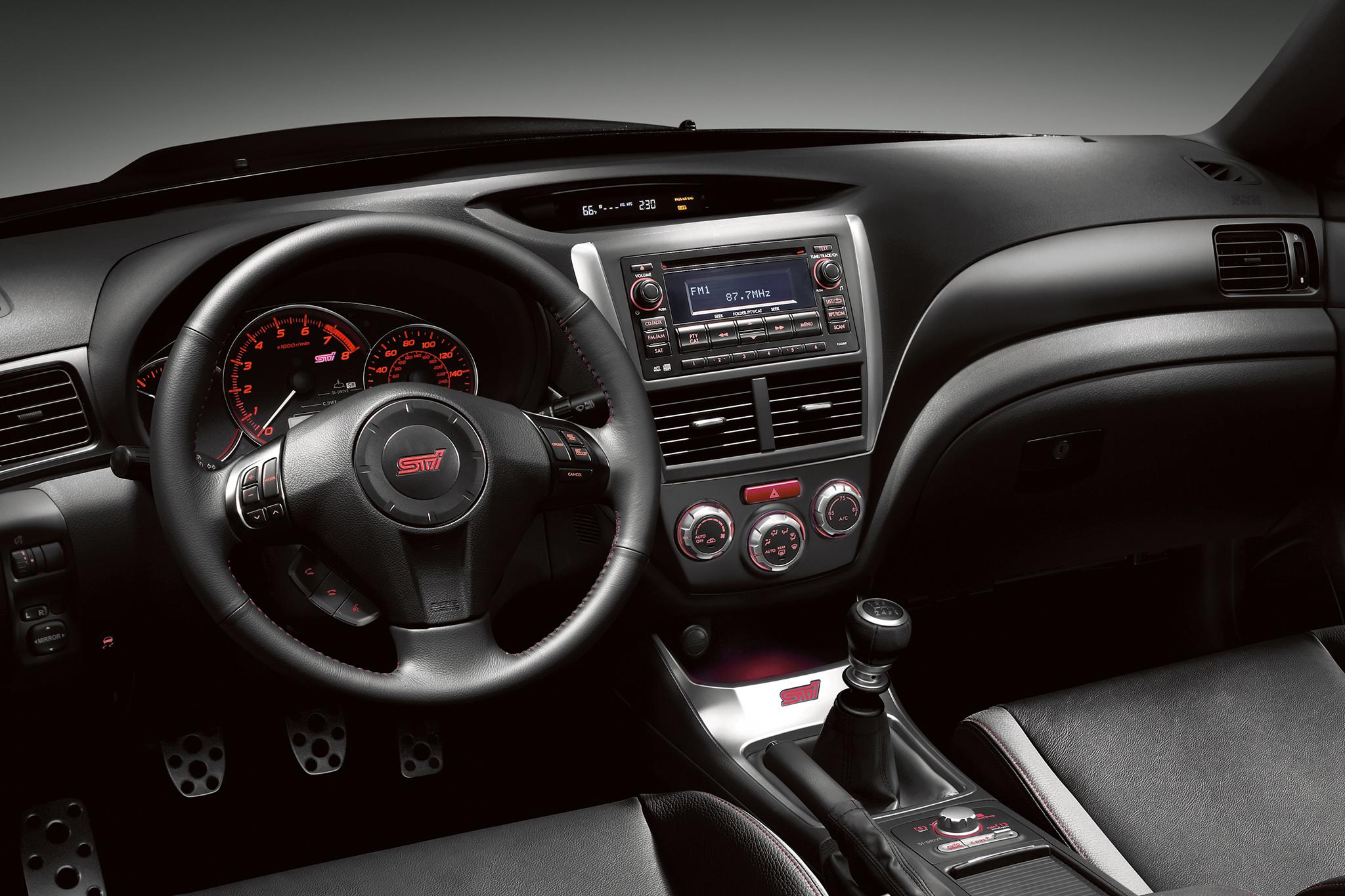 Subaru Impreza WRX STi III 2007 - 2014 Sedan #4