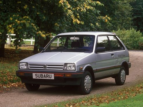 Subaru Justy I 1984 - 1987 Hatchback 3 door #4