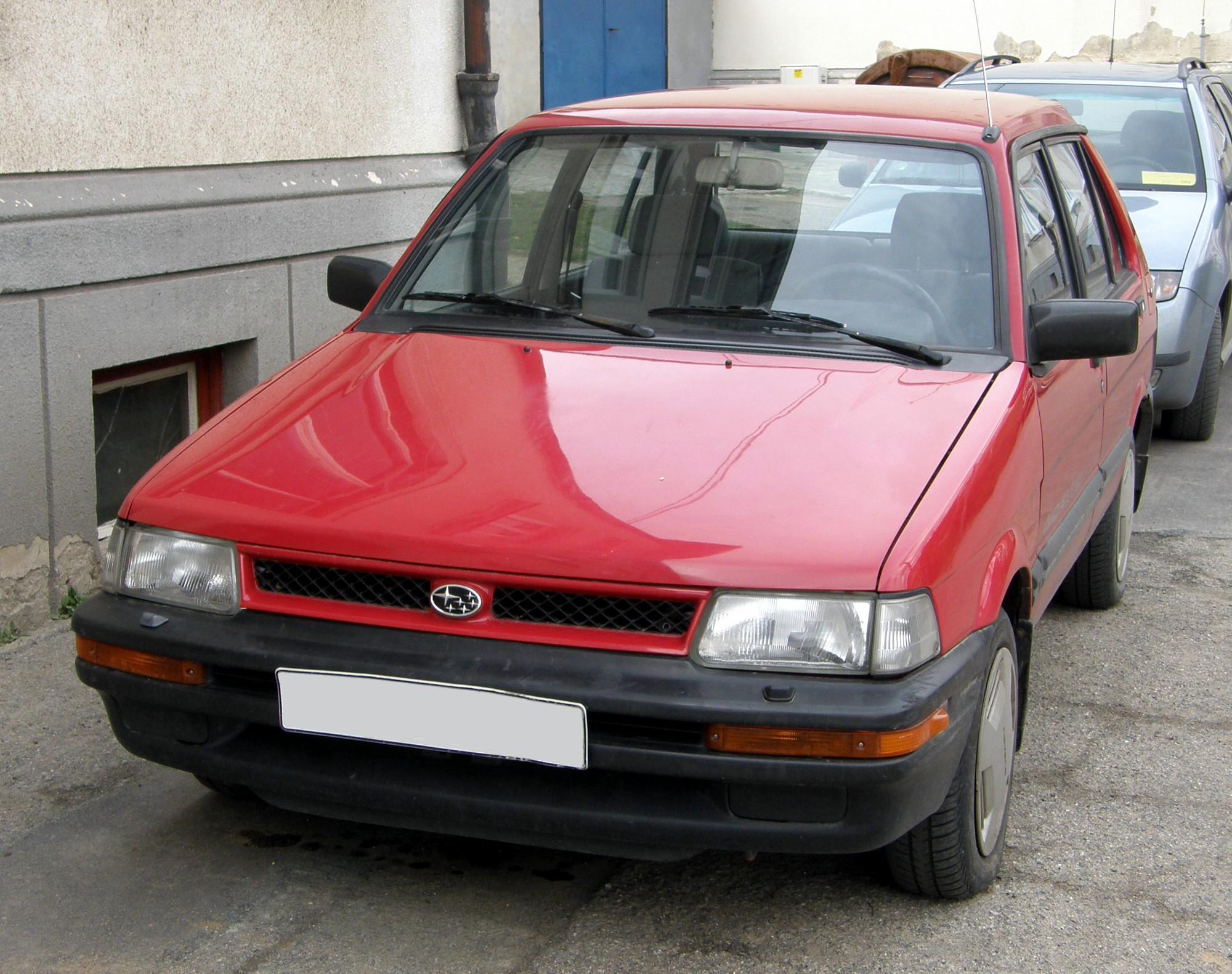 Subaru Justy I 1984 - 1987 Hatchback 3 door #3