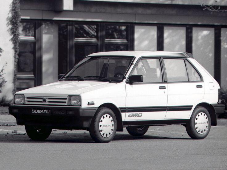 Subaru Justy I 1984 - 1987 Hatchback 3 door #8