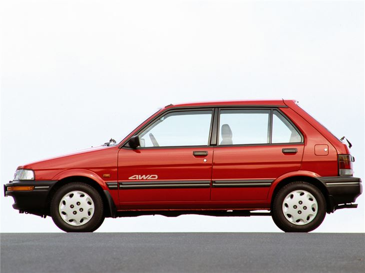 Subaru Justy I 1984 - 1987 Hatchback 3 door #2