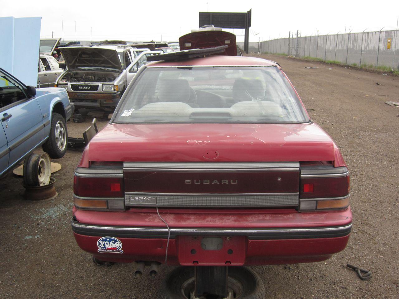 Subaru Legacy I 1989 - 1994 Sedan #5