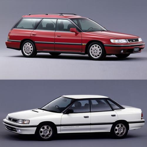 Subaru Legacy I 1989 - 1994 Sedan #3