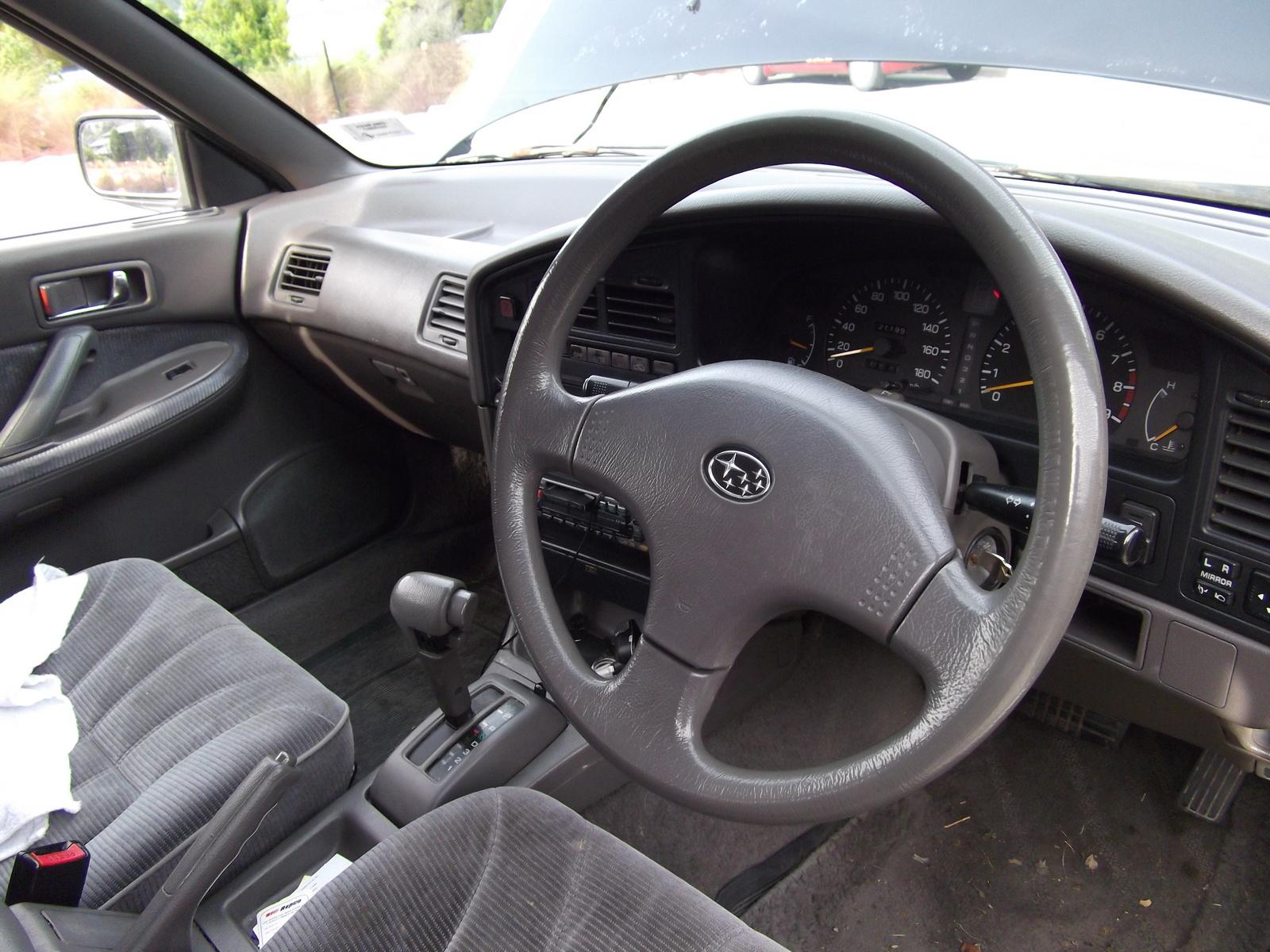 Subaru Legacy I 1989 - 1994 Sedan #7