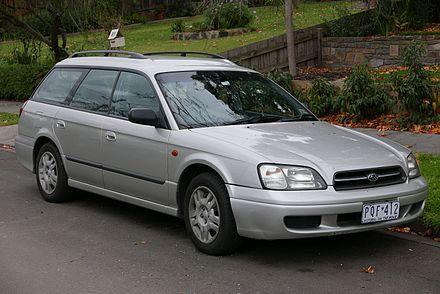 Subaru Legacy Lancaster I 1995 - 1998 Station wagon 5 door #1