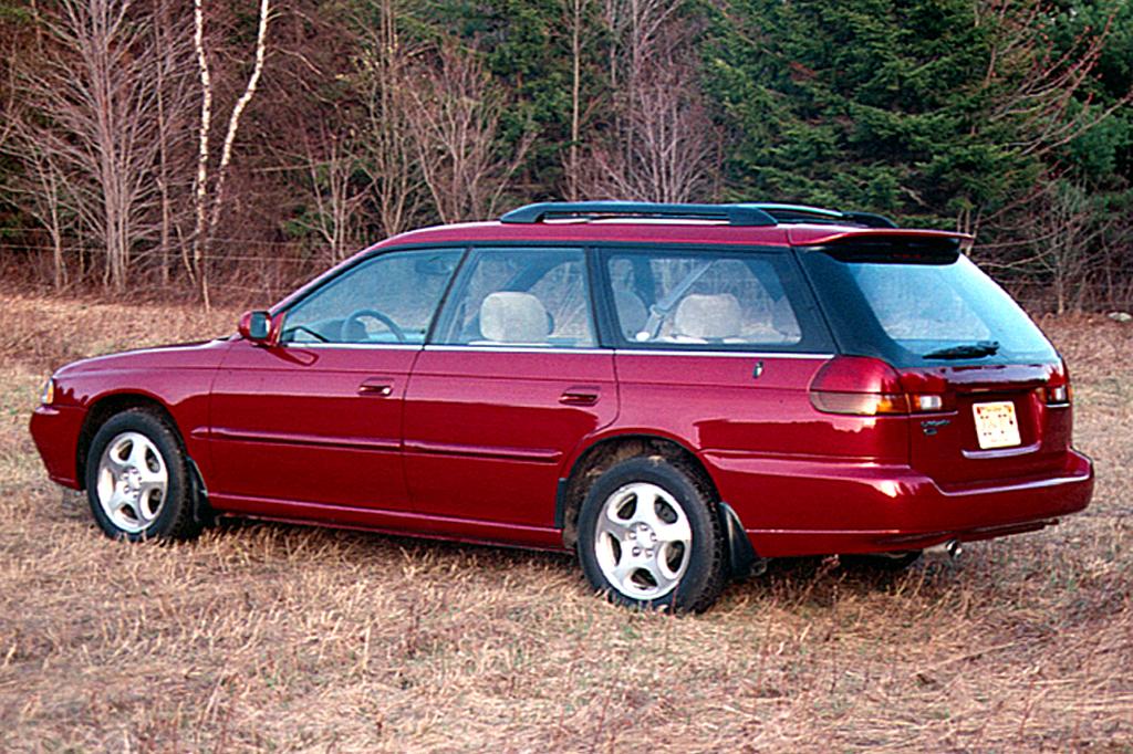 Subaru Legacy Lancaster I 1995 - 1998 Station wagon 5 door #5