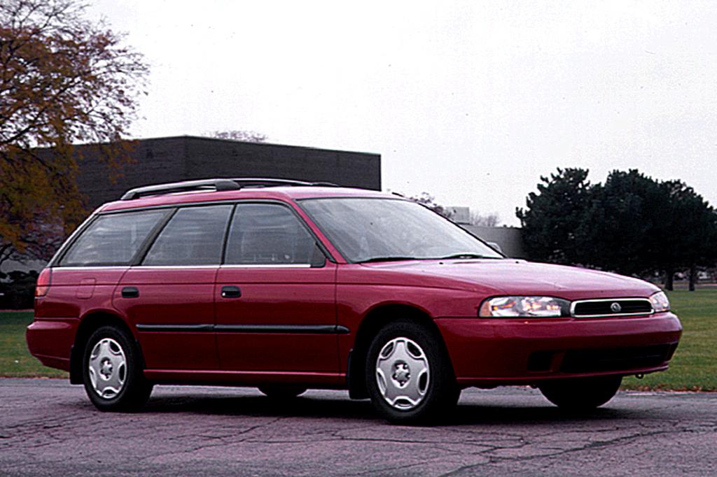 Subaru Legacy Lancaster I 1995 - 1998 Station wagon 5 door #6