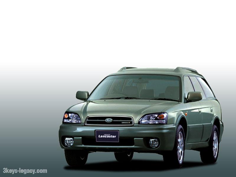 Subaru Legacy Lancaster II Restyling 2001 - 2003 Station wagon 5 door #2