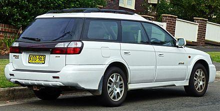 Subaru Legacy Lancaster II Restyling 2001 - 2003 Station wagon 5 door #3