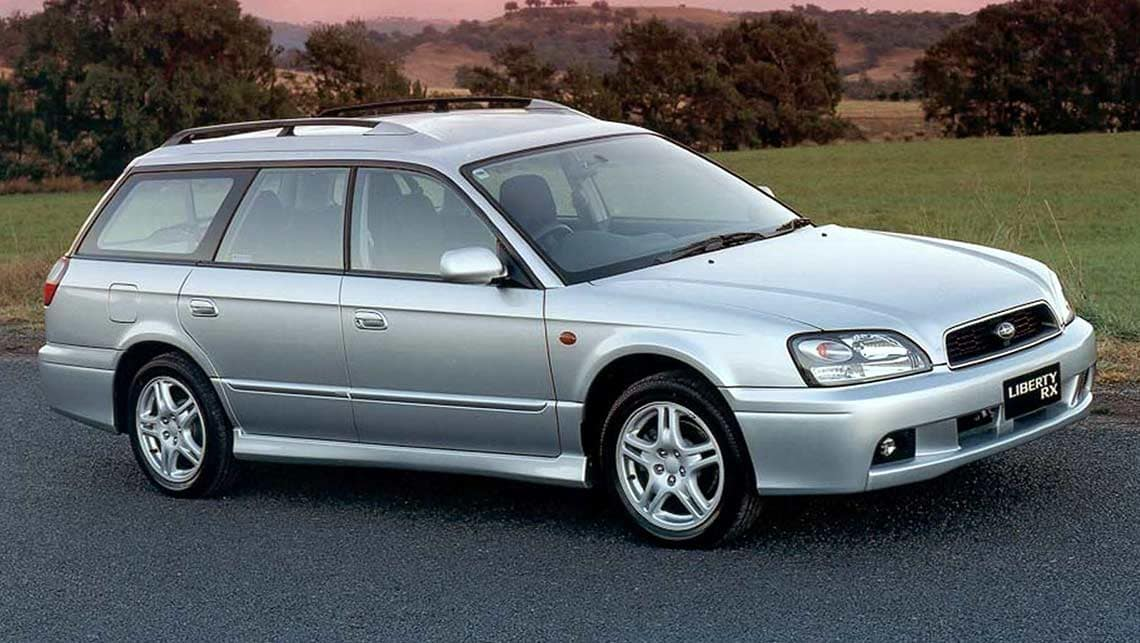 Subaru Legacy Lancaster II Restyling 2001 - 2003 Station wagon 5 door #6