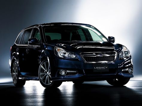 Subaru Legacy V Restyling 2012 - 2014 Station wagon 5 door #2