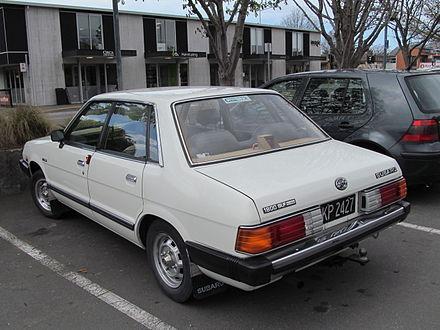 Subaru Leone III 1984 - 1994 Sedan #5