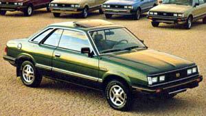 Subaru Leone II 1979 - 1984 Coupe #7