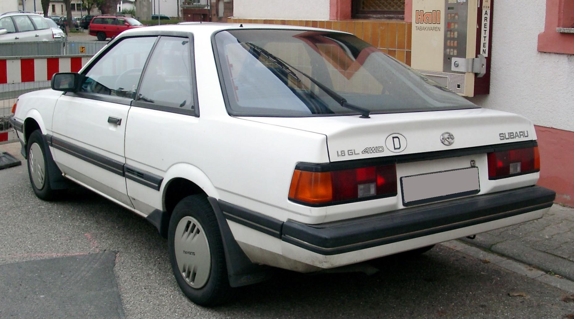 Subaru Leone II 1979 - 1984 Hatchback 3 door #4