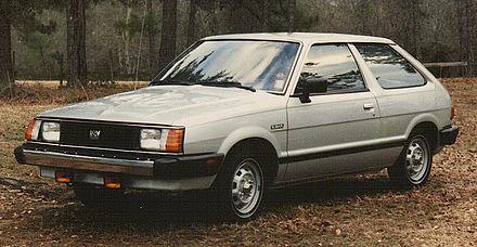 Subaru Leone II 1979 - 1984 Hatchback 3 door #7