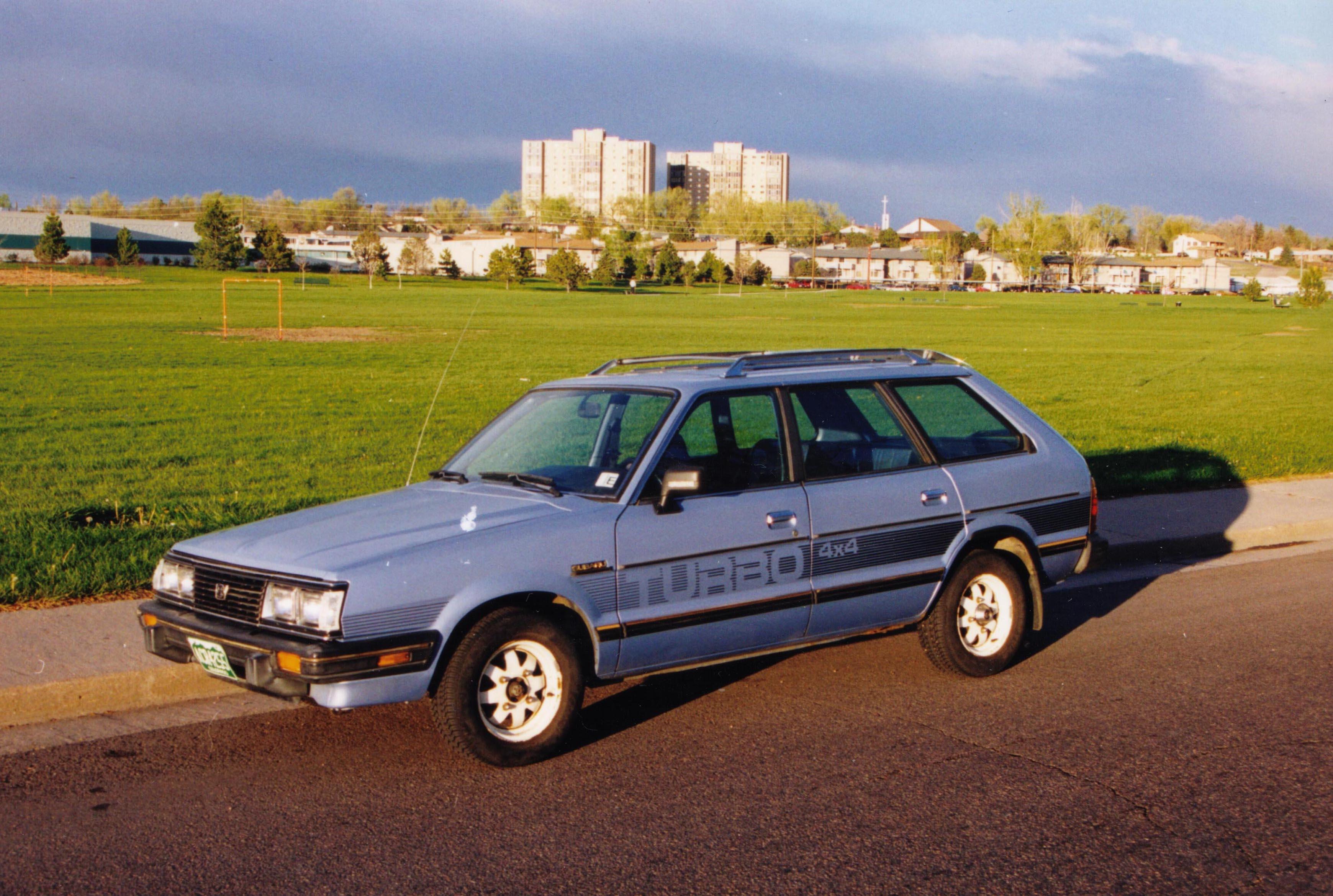 Subaru Leone II 1979 - 1984 Hatchback 3 door #2