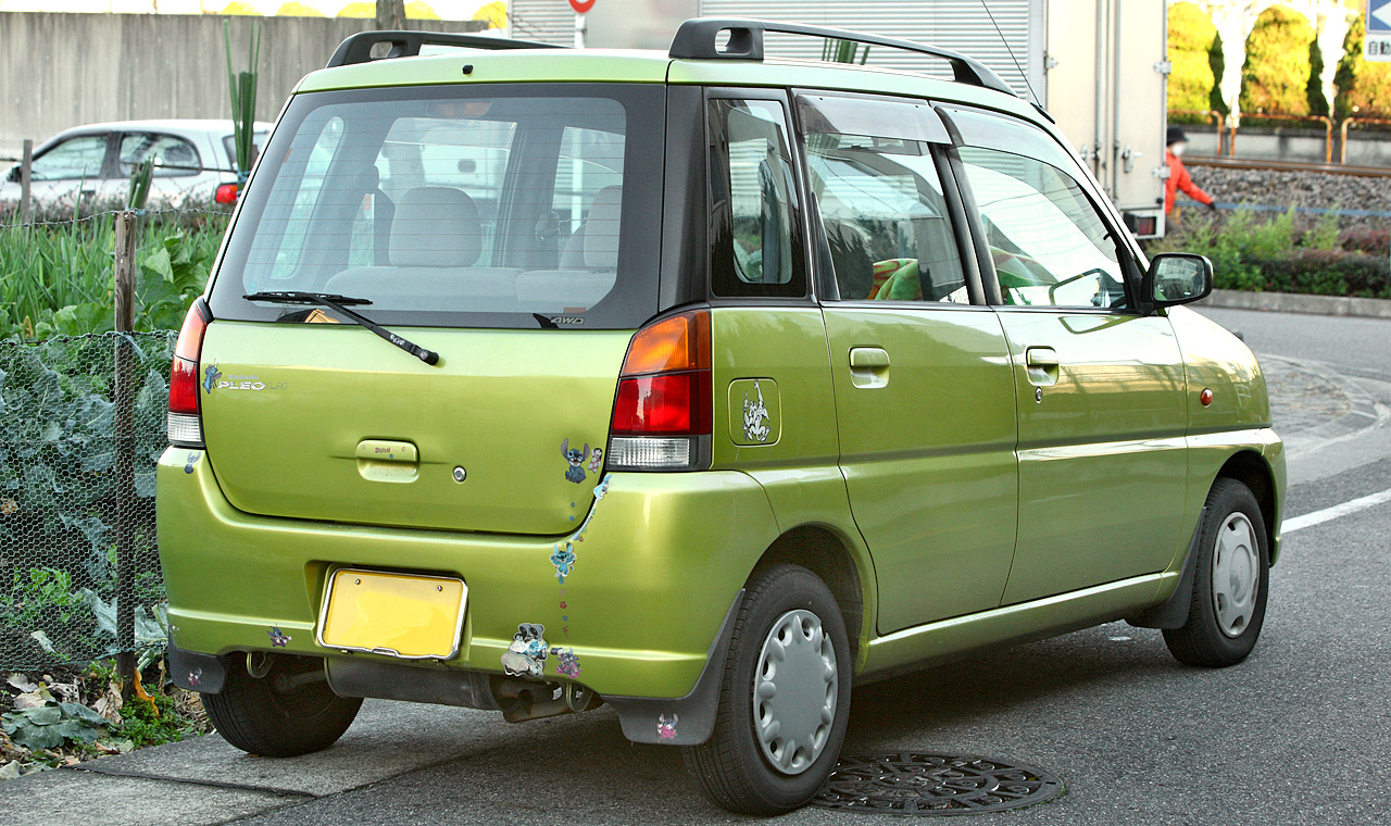 Subaru Pleo I 1998 - 2000 Hatchback 5 door #4