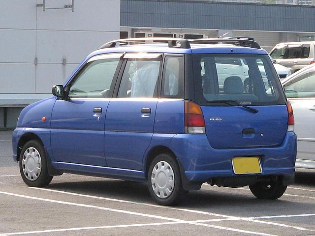 Subaru Pleo I 1998 - 2000 Hatchback 5 door #6