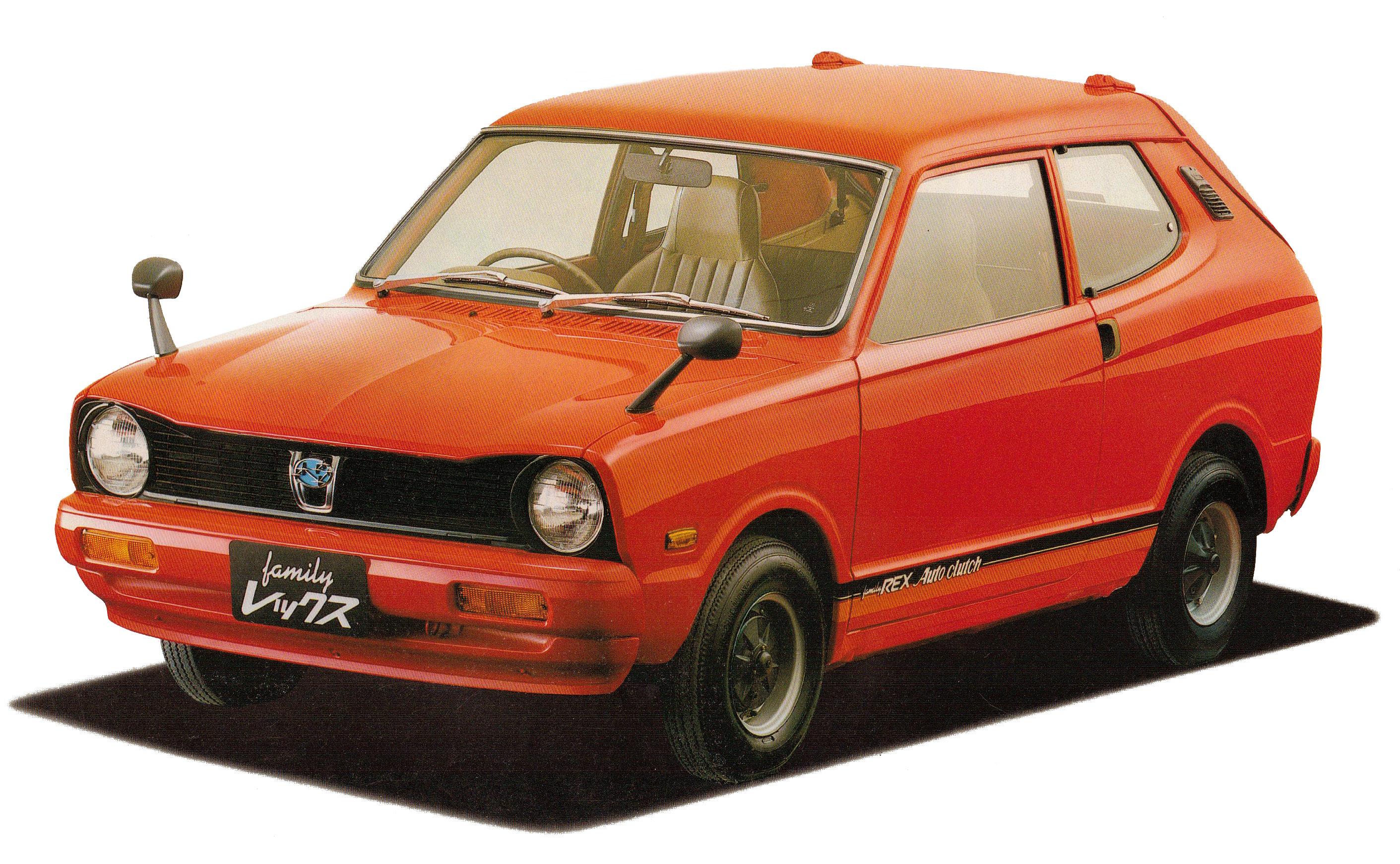Subaru Rex I 1972 - 1981 Hatchback 3 door #6