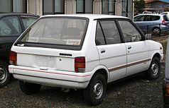Subaru Rex III 1986 - 1992 Hatchback 5 door #3