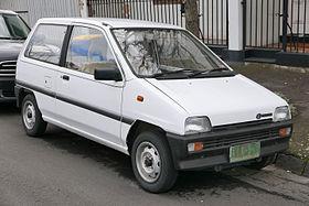 Subaru Rex III 1986 - 1992 Hatchback 5 door #1