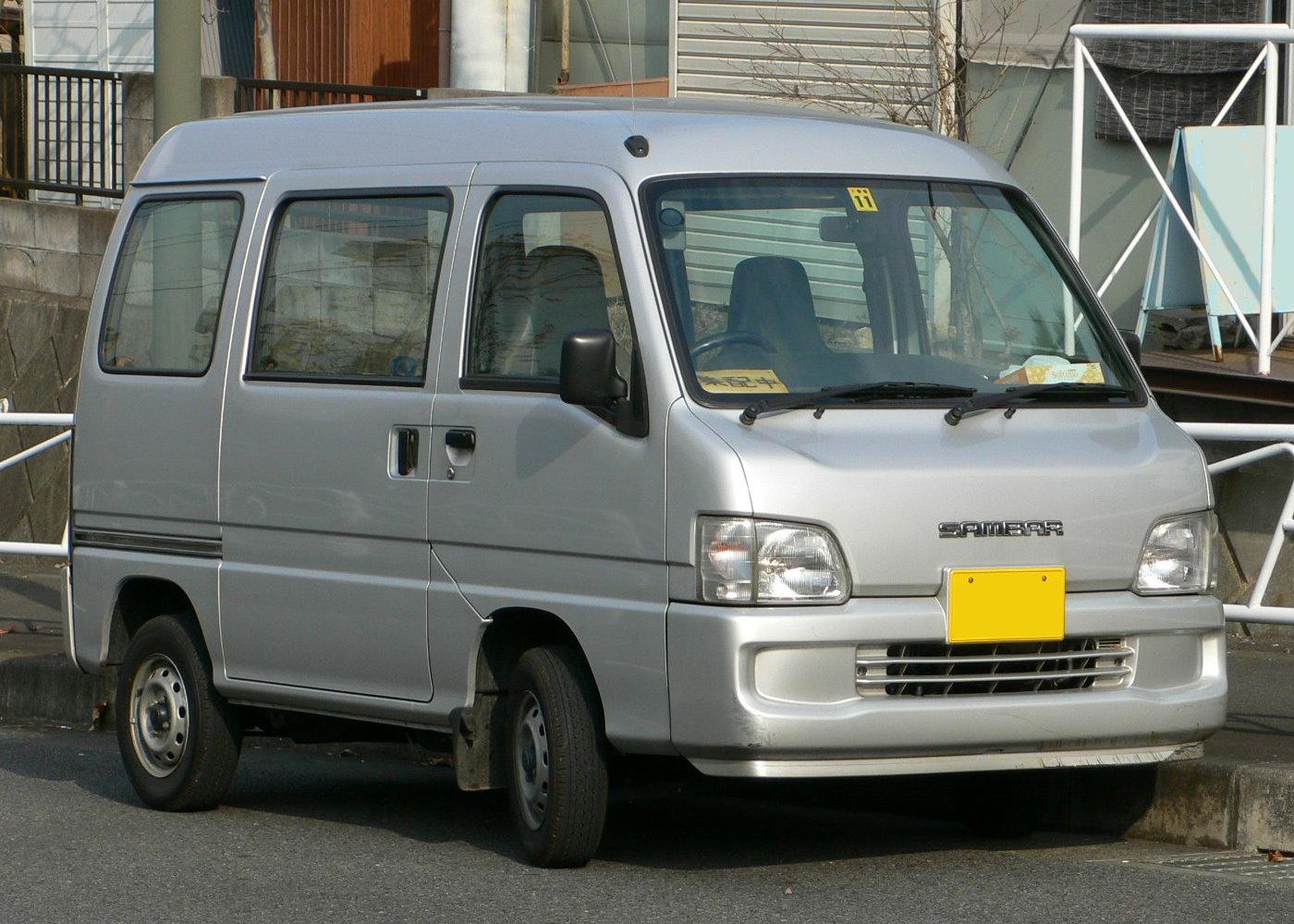 Subaru Sambar 2009 - 2012 Microvan #3