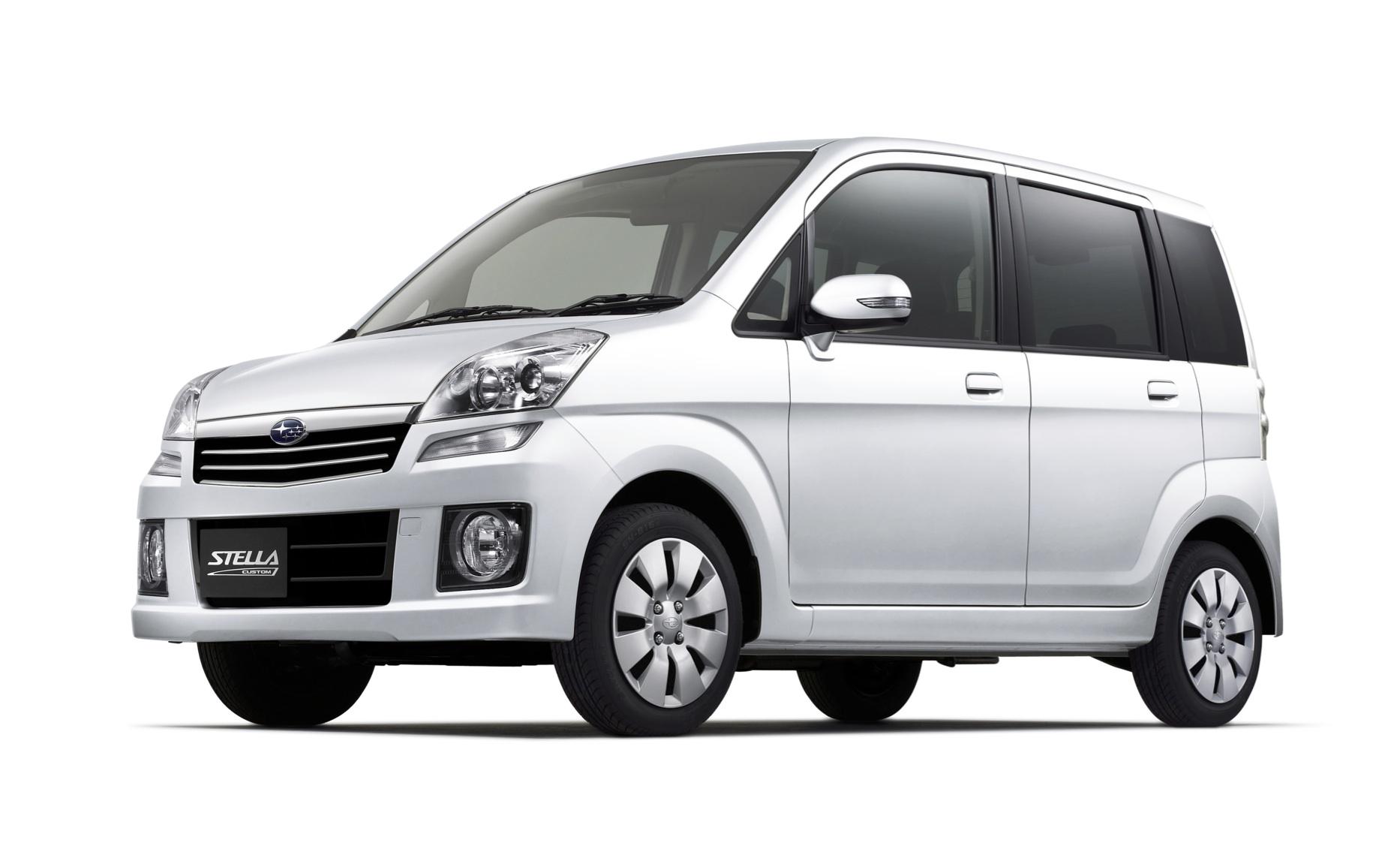Subaru Stella I 2006 - 2011 Microvan #6