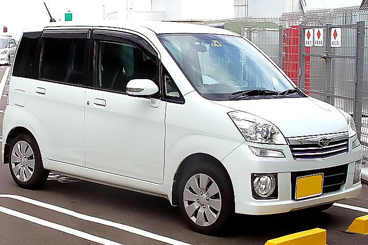 Subaru Stella II 2011 - 2012 Minivan #7