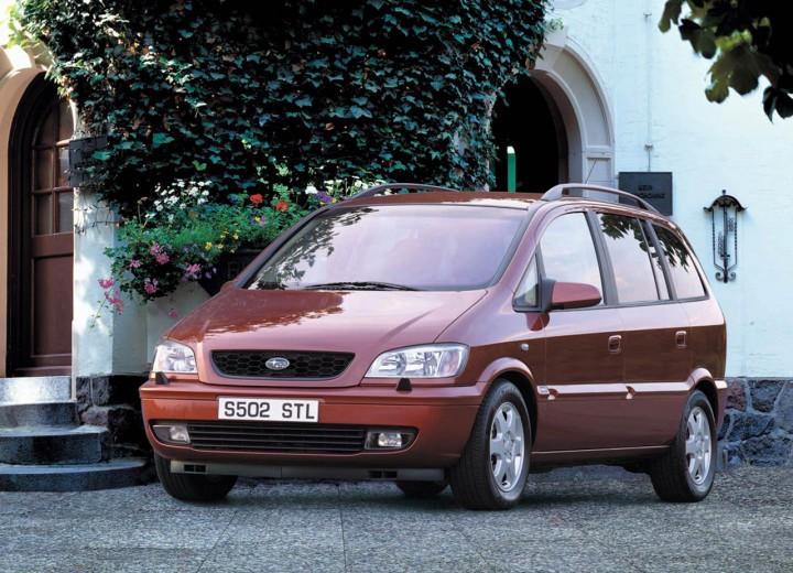 Subaru Traviq 2001 - 2004 Compact MPV #3