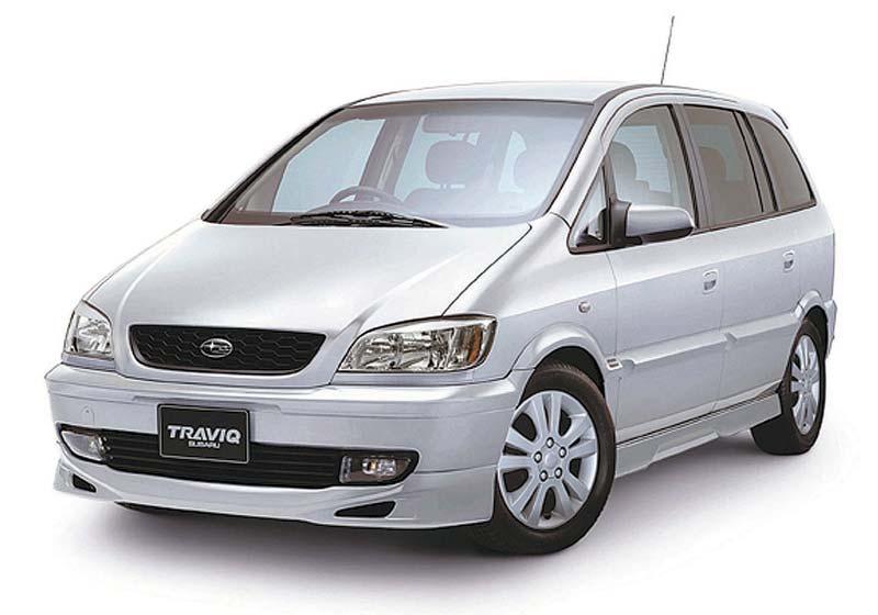 Subaru Traviq 2001 - 2004 Compact MPV #6