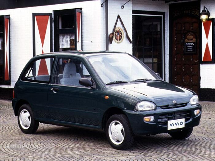 Subaru Vivio 1992 - 1998 Hatchback 3 door #7