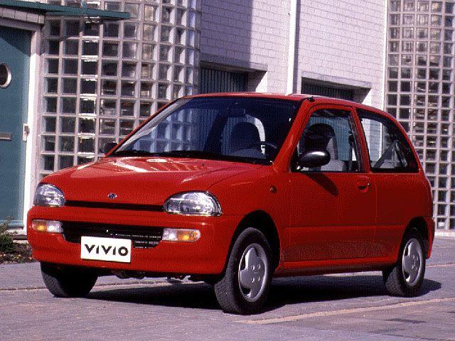 Subaru Vivio 1992 - 1998 Hatchback 5 door #2