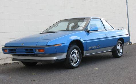 Subaru XT 1987 - 1992 Coupe #8
